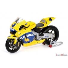 Yamaha YZR-M1 MotoGP 2005 A. Barros 1/12 PMA